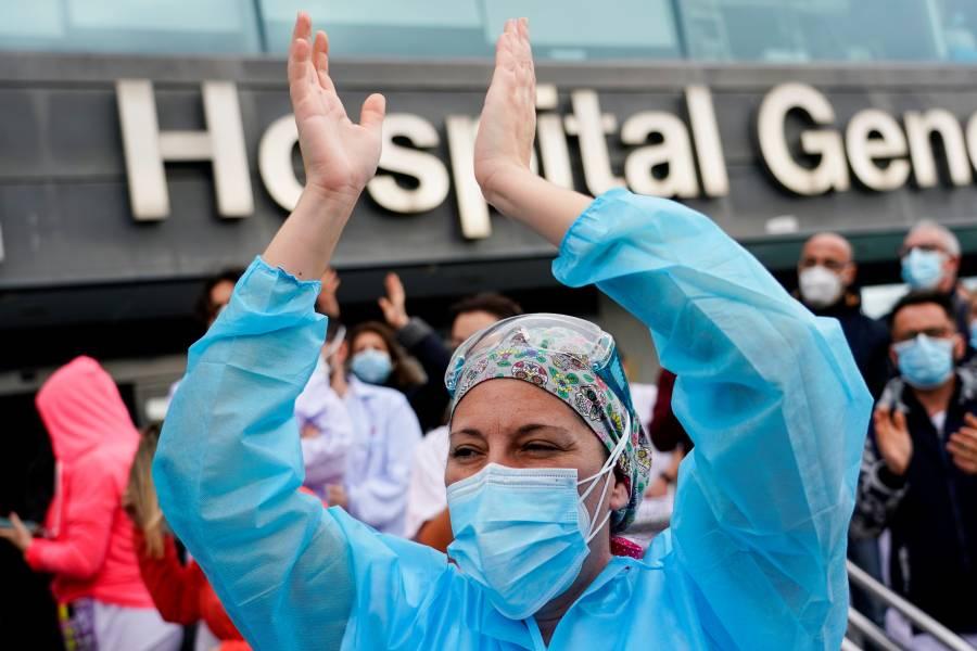 Colapsan hospitales en España  ante tercera ola de Covid