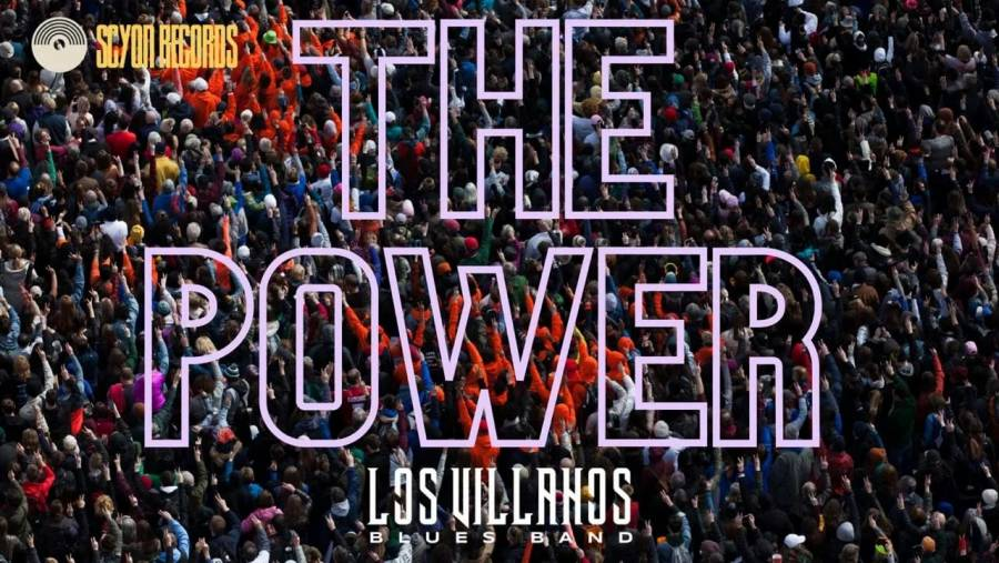 Los Villanos Blues Band inician el año con el sencillo The Power
