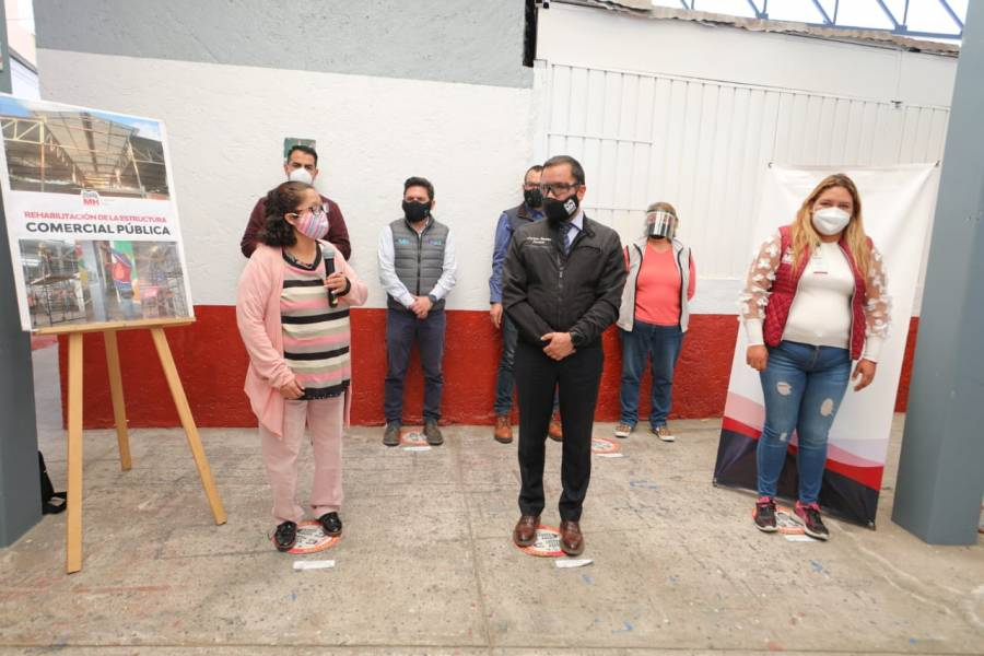 Alcaldía Miguel Hidalgo rehabilita mercados públicos