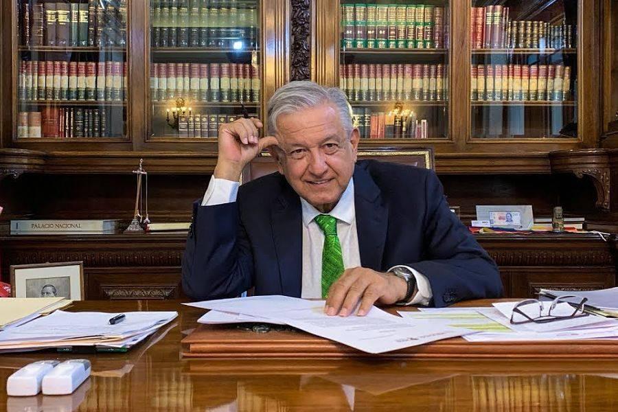AMLO se recupera en Palacio Nacional tras contraer COVID-19
