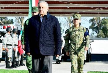 Comandante que en SLP tuvo contacto con AMLO da positivo a Covid