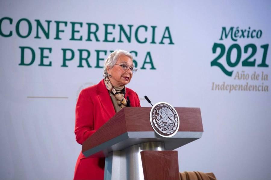 Sánchez Cordero agradece a presidentes muestras de solidaridad a AMLO