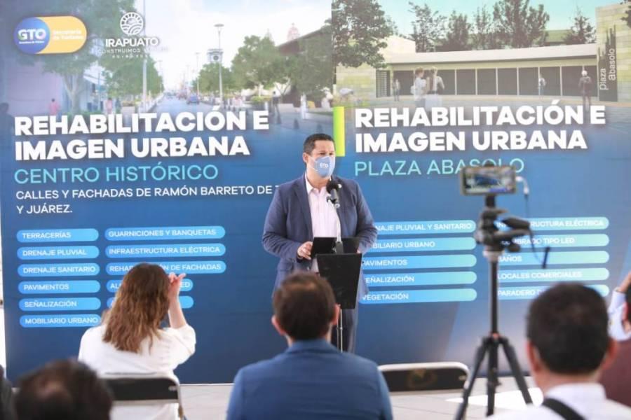 Invierten 800 mdp en obras y acciones en Irapuato, Guanajuato