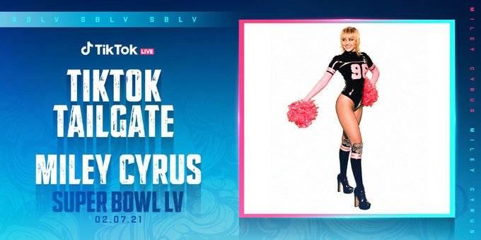 En TikTok, Miley Cyrus dará concierto previo al Super Bowl LV