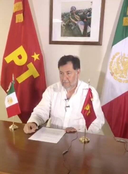 Fernández Noroña se disculpa con diputada por violencia política de genero