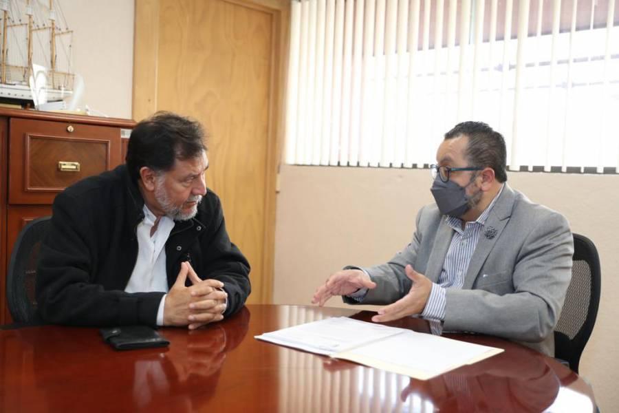 Noroña pide enjuiciar a Córdova y Murayama
