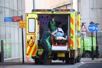 Reino Unido supera las 100 mil muertes por COVID-19