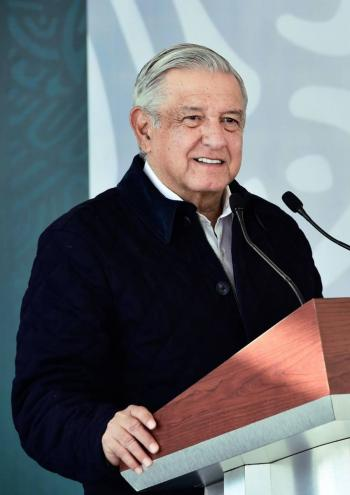 """""""Muy bien y muy optimista"""", es como está AMLO, asegura Sánchez Cordero"""