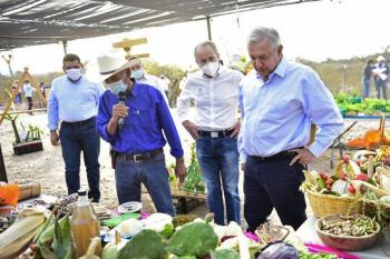 Tras visita de AMLO a San Luis Potosí, funcionarios resultan positivos de Covid-19