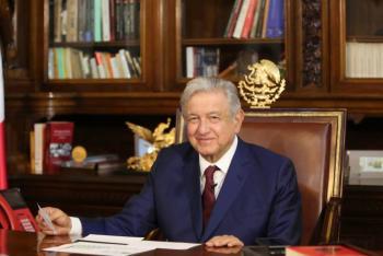 AMLO pacta con Putin compra de 24 millones de vacunas