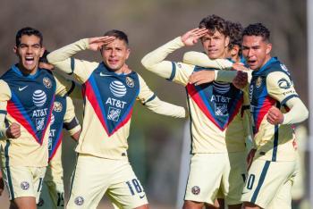 Contagios de Covid-19 en el América Sub-20