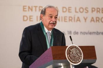 Carlos Slim, con covid; acude al instituto nacional de nutrición