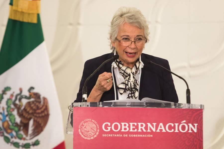 Sánchez Cordero: Mujeres decidirán despenalización de aborto