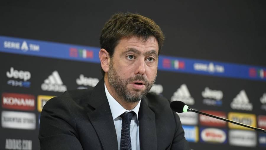 Agnelli teme que clubes del fútbol europeo pierdan 8.500 millones de euros, por Covid