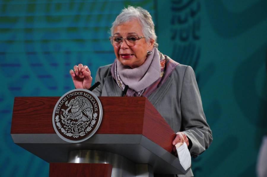 México analiza pedir pruebas de COVID-19 a viajeros extranjeros: Sánchez Cordero