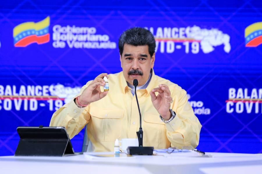 Sin respaldo científico, Maduro presenta la cura para el Covid