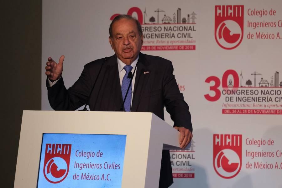 Carlos Slim, internado por COVID-19, pero se encuentra bien de salud