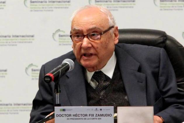 Fallece el destacado jurista, Héctor Fix Zamudio