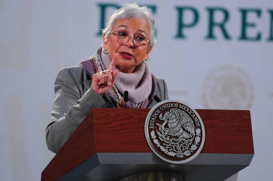 """""""No es un San Fernando"""", dice Sánchez Cordero respecto a nueva masacre en Tamaulipas"""