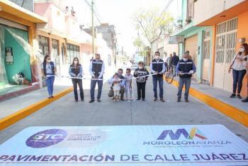 Entrega gobernador de Guanajuato obras por más de 50 MDP en Moroleón