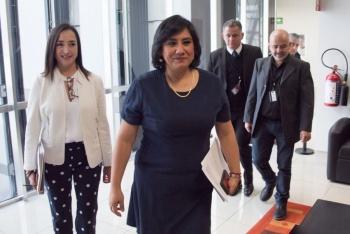 """Eréndira Sandoval anuncia sanción a otro funcionario de Pemex relacionado con la """"Estafa Maestra"""""""