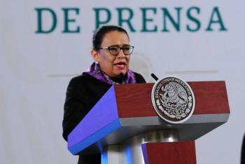 Rosa Icela Rodríguez minimiza tema de robo de oxígeno
