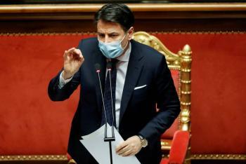 Conte renuncia para buscar la mayoría parlamentaria que perdió por el Covid