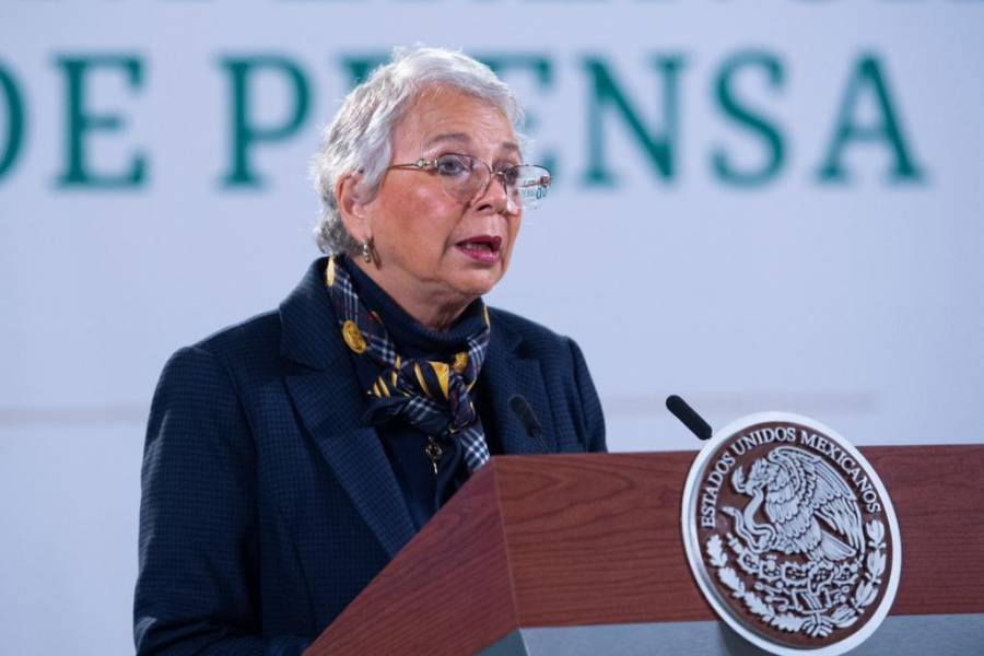 """""""Mi edad no me da mucho para redes sociales"""", dice Olga Sánchez Cordero"""