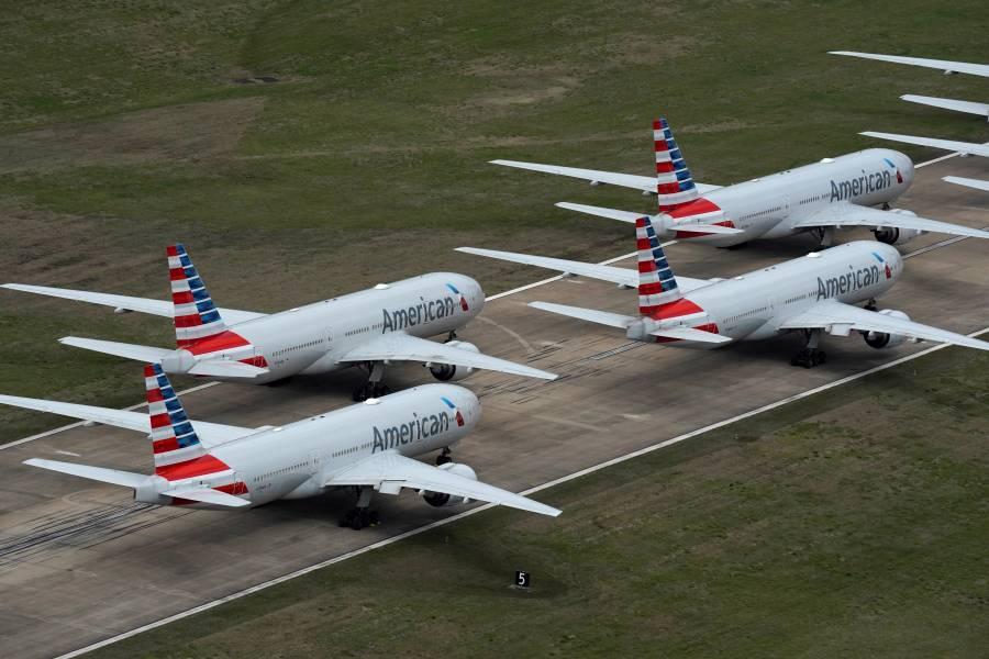En 2020 cayó como nunca la aerolínea American Airlines