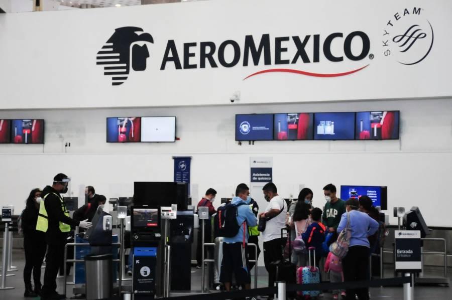 Pilotos de Aeroméxico aceptan recortes para apoyar reestructura financiera