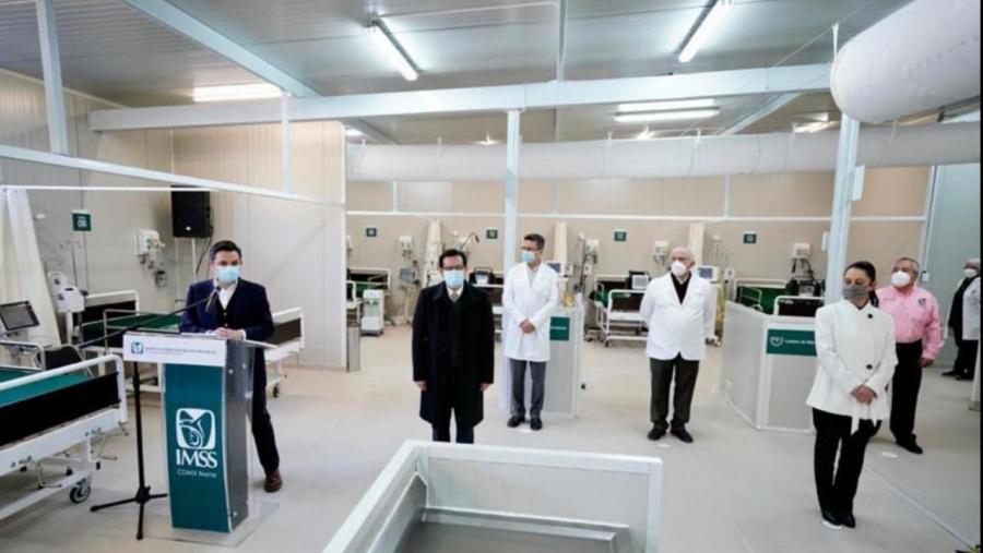 IMSS adapta en Lindavista Centro de Atención Temporal para enfermos de Covid-19