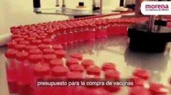 TEPJF avala bajar spot de Morena sobre vacunas contra Covid-19