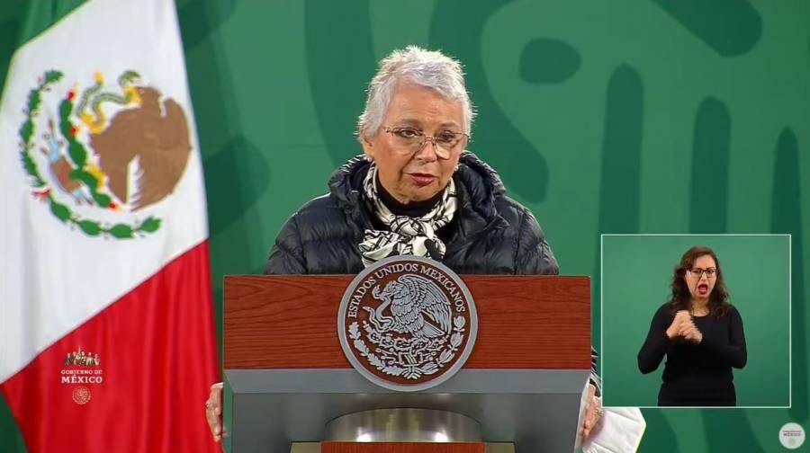 Salud del presidente mejora rápidamente tras enfermar de COVID-19: Sánchez Cordero