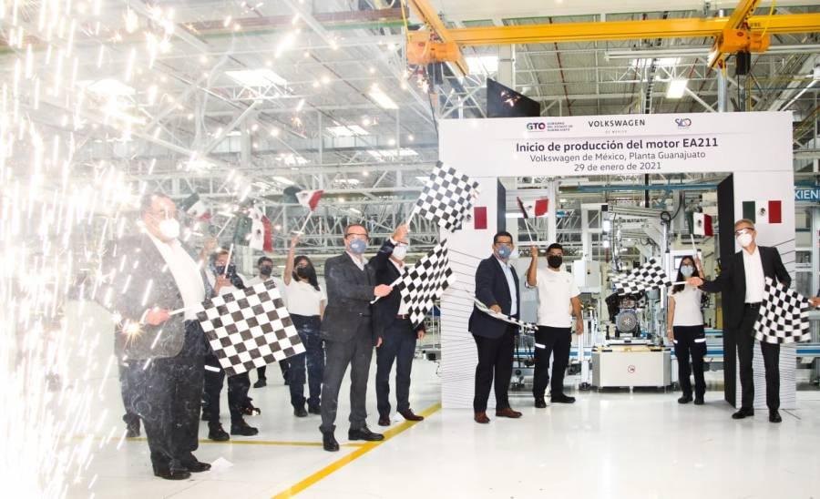 Inicia Volkswagen Silao producción de motor vanguardista