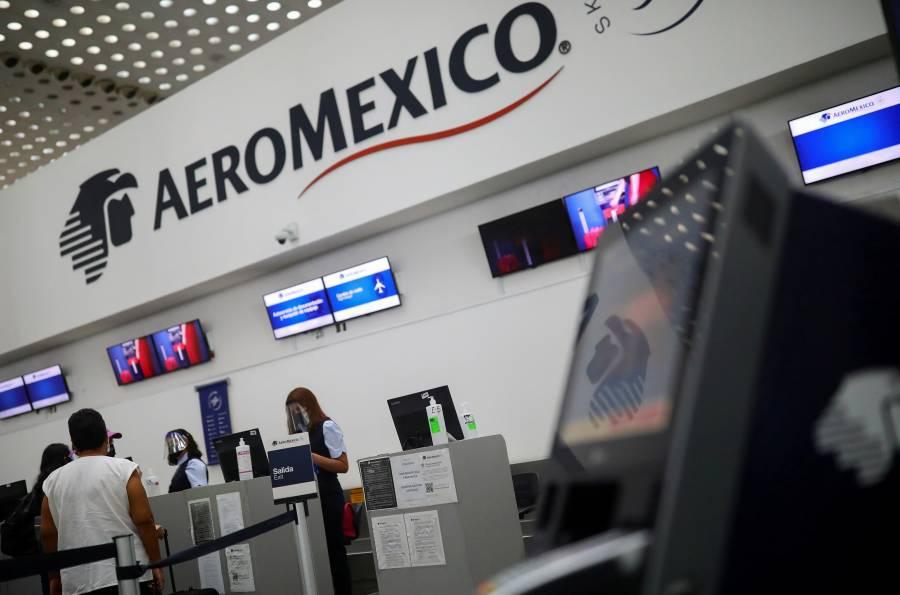 Con acuerdo sindical Aeroméxico gana en Bolsa