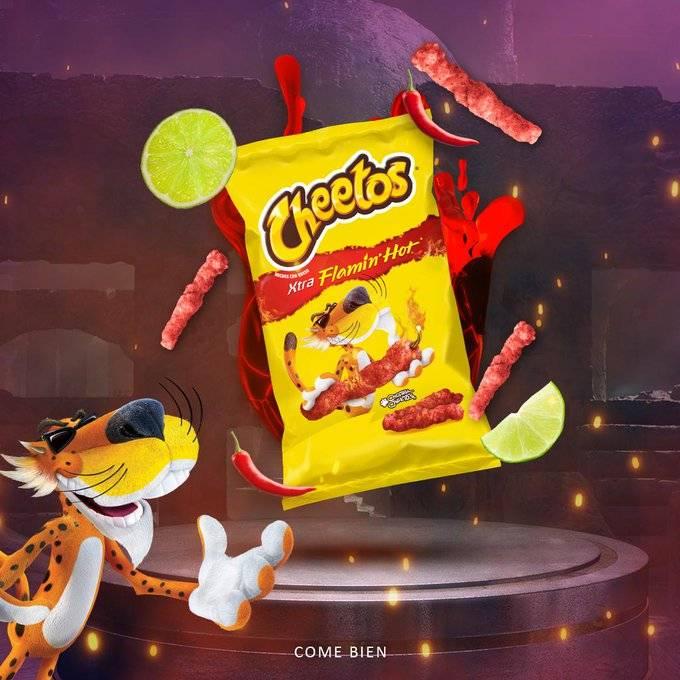 Chester ya no estará más en la imagen de los Cheetos