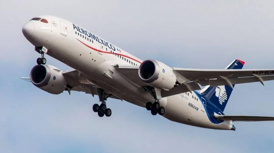 Aeroméxico suspenderá vuelos a Canadá desde segunda semana febrero