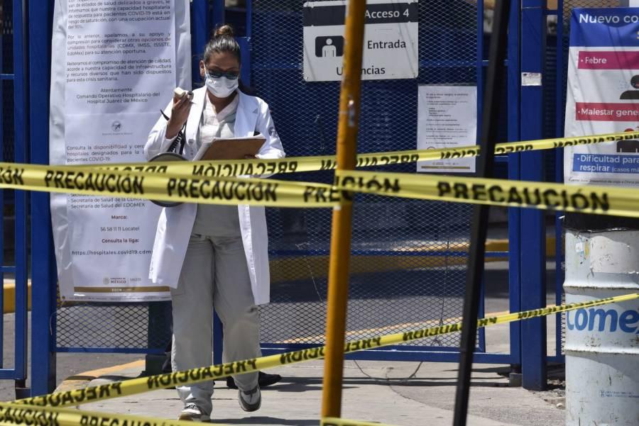 México suma 1,495 muertes por Covid19