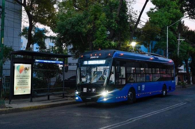 Reactivan Línea 9 del Trolebús, luego de ocho años sin funcionamiento