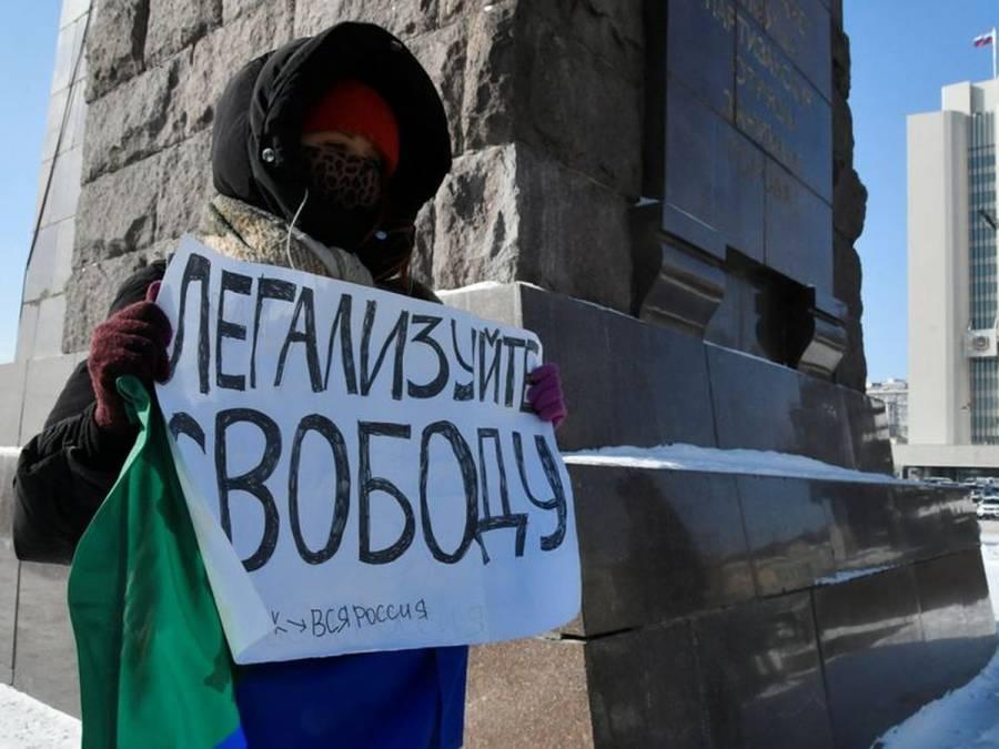 Rusia detiene más de 5.000 personas en protestas por liberación de Navalny