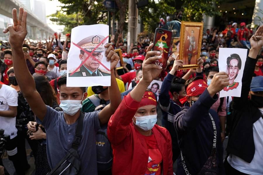 Naciones y organismos internacionales condenan golpe de Estado en Birmania