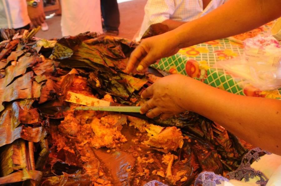 El origen del zacahuil, el tamal gigante de origen prehispánico