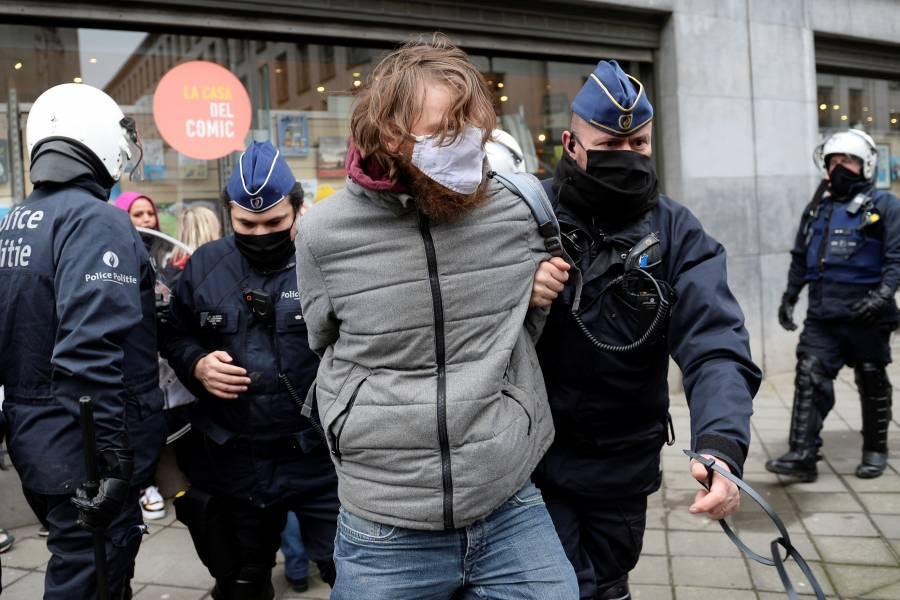 Bélgica y Austria se alzan  contra medidas antiCovid