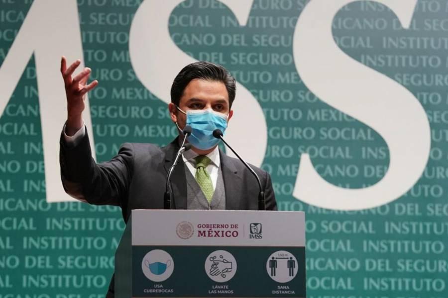 Más de 228 mil trabajadores del IMSS, han sido vacunados contra COVID-19: Zoé Robledo