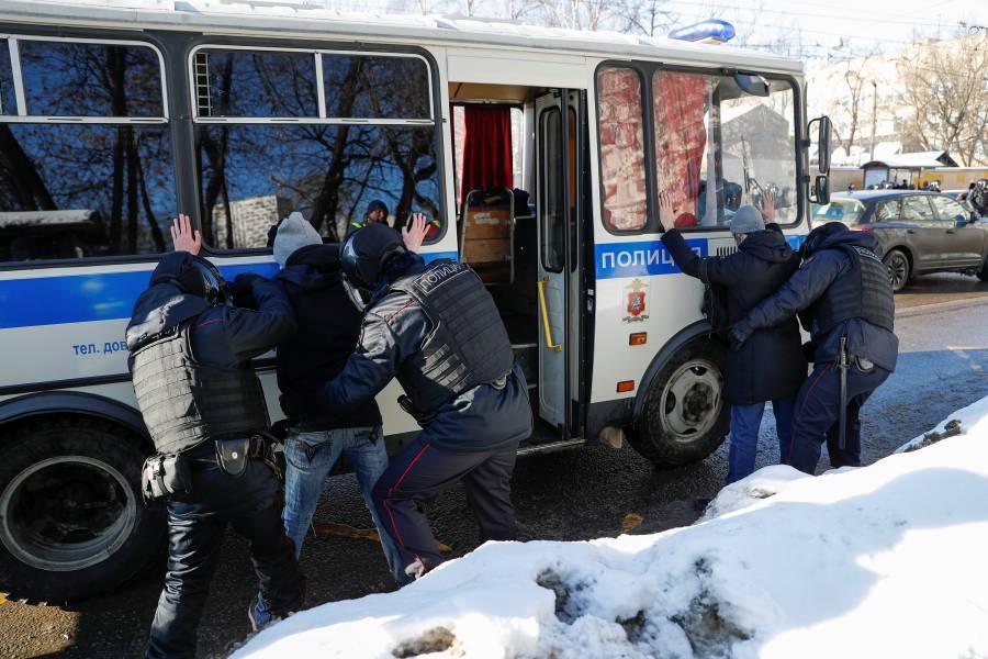 Estados Unidos y la Unión Europea urgen a Rusia liberar a Alexei Navalny