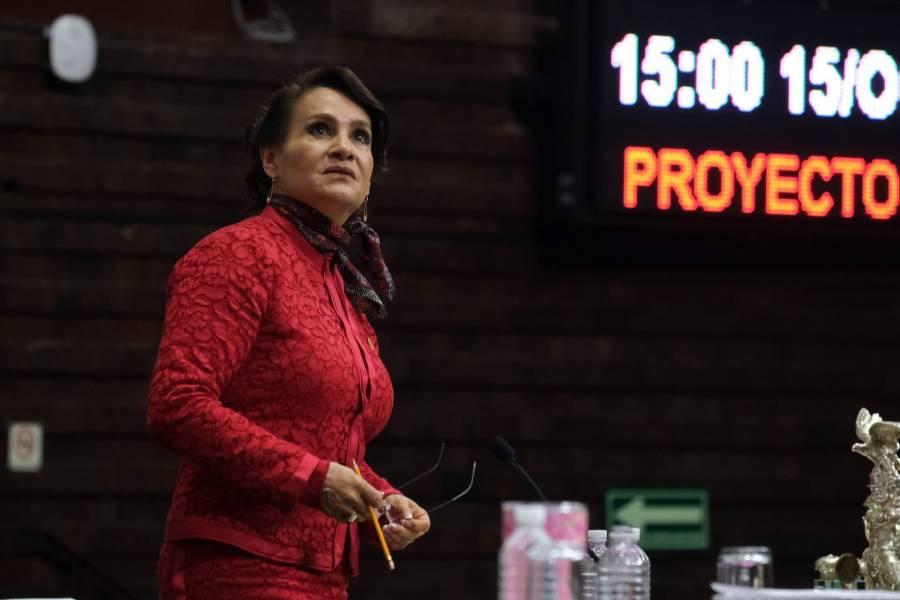Dolores Padierna se registra para contender por la candidatura de Morena a la alcaldía Cuauhtémoc