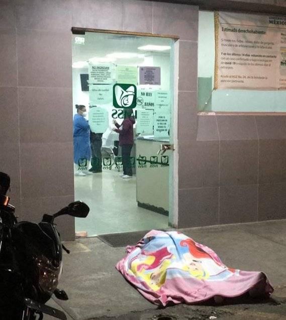 Hombre muere en la puerta del Hospital Magdalena de las Salinas, le negaron la atención