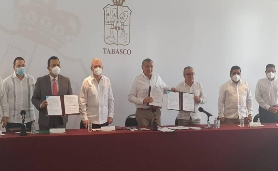 Acuerdan CFE y Gobierno de Tabasco condonar deuda a 600 mil tabasqueños