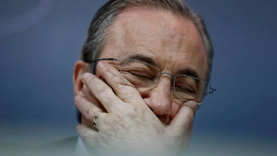 Florentino Pérez, presidente del Real Madrid, da positivo a COVID-19