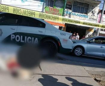 En Tláhuac, fallece motociclista que viajaba sin casco y con su hijo a bordo